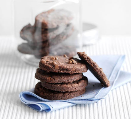 Chocolate shortbreads