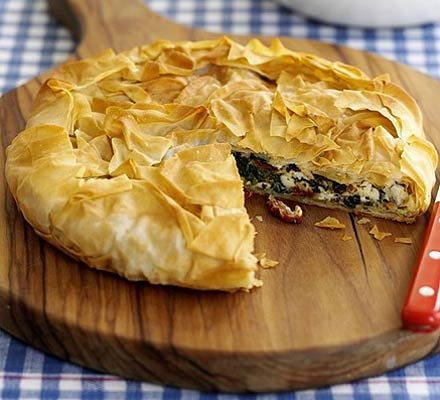 Greek-style pie