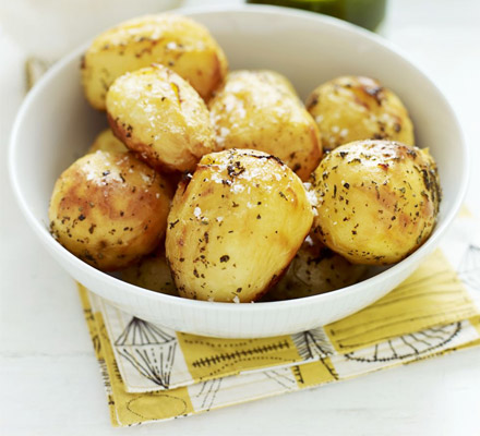Stoved potatoes