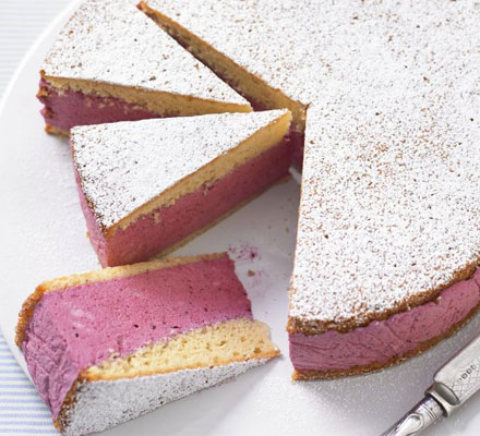 Berry Mousse cake