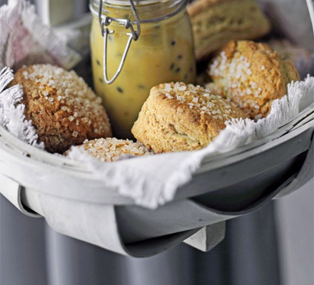Sugared scones