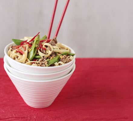 Five-spice beef noodles